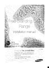 Samsung NX58F5500SW Manuals