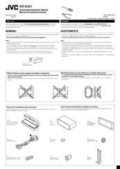 Jvc KD-G431 Manuals