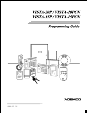 Honeywell Ademco VISTA-20P Manuals