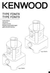 Kenwood FDM78 Manuals