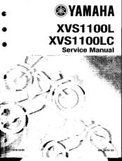 Yamaha XVS1100(L) Manuals