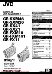 Jvc Gr 315s Mode Demploi
