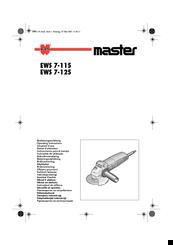 Wurth EWS 7-125 Manuals