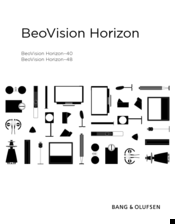 Bang & Olufsen BeoVision Horizon-48 Manuals