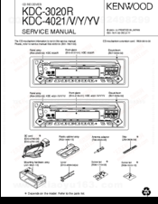 Kenwood KDC-4021 Manuals