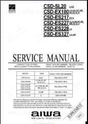 Aiwa CSD-ES227 Manuals