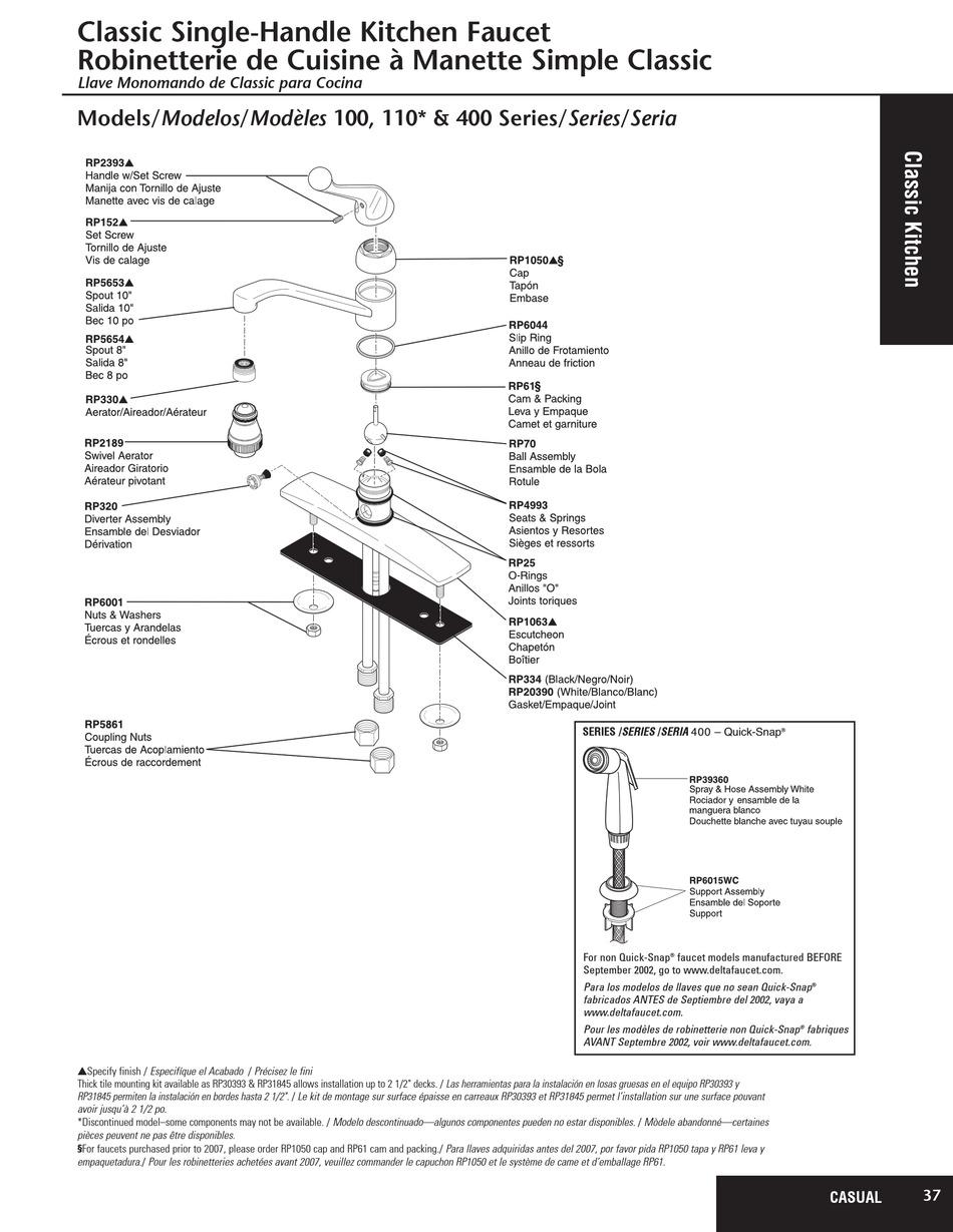 delta 100 series parts list pdf
