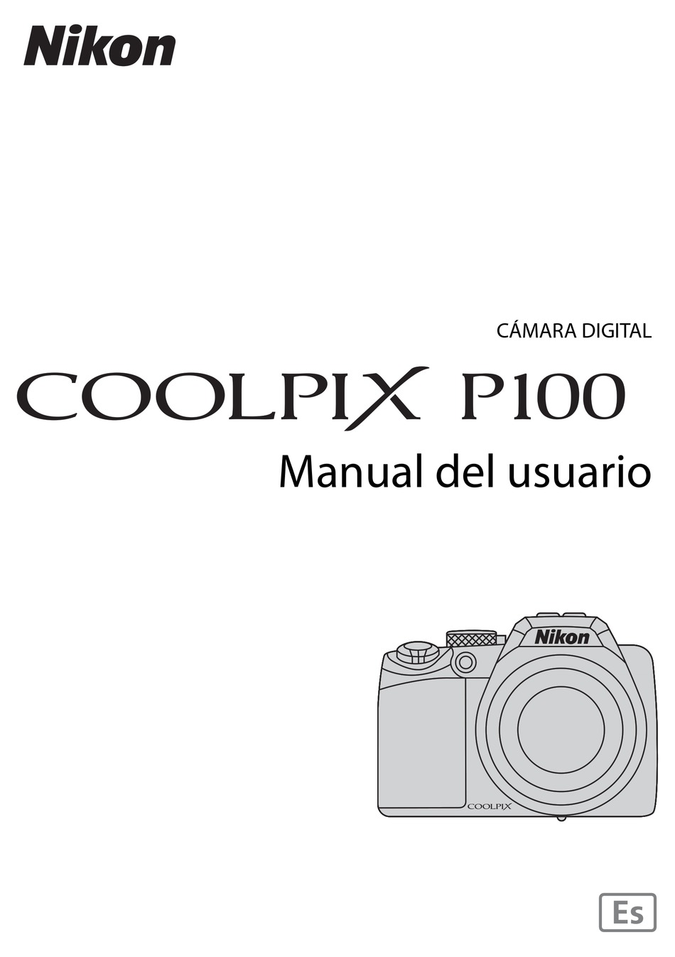 NIKON COOLPIX P100 MANUAL DEL USUARIO Pdf Download