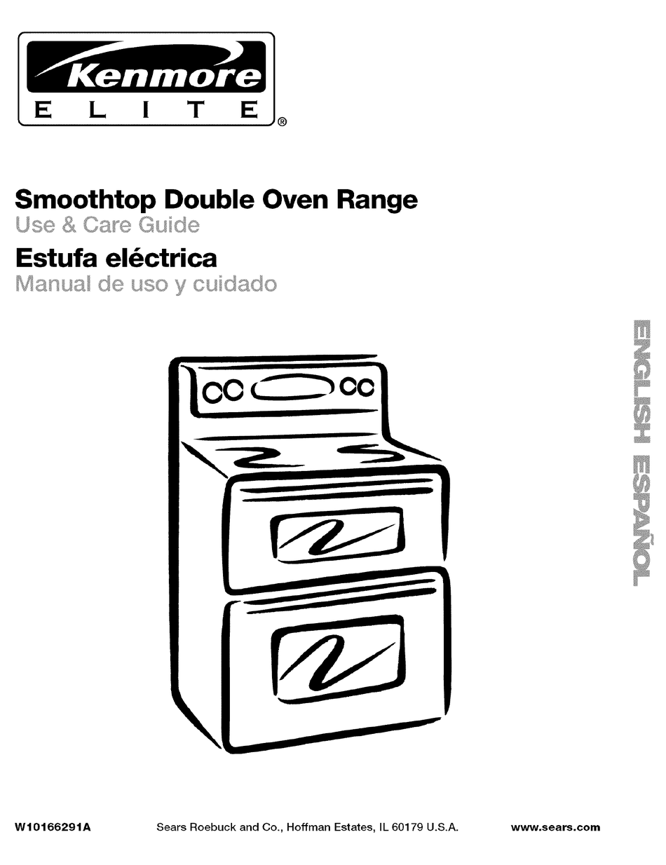 KENMORE ELITE 66598013700 USE & CARE MANUAL Pdf Download