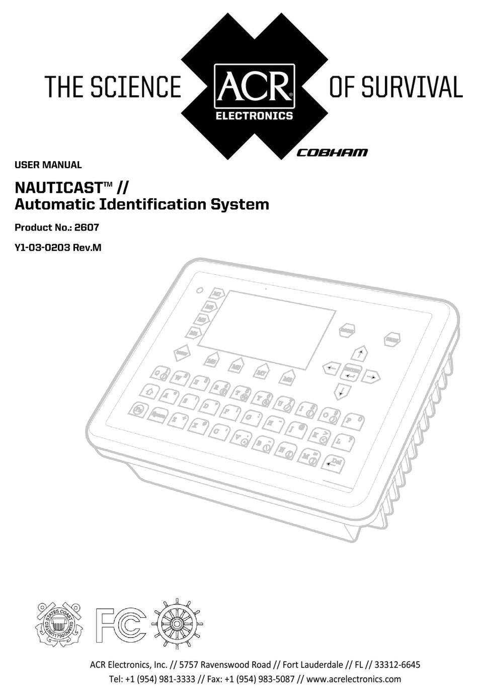 ACR ELECTRONICS NAUTICAST 2607 USER MANUAL Pdf Download
