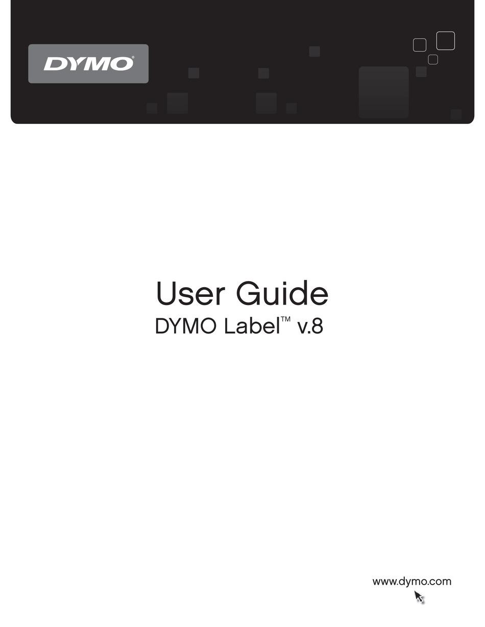 Dymo Label V 8 Download : label, download, LABEL, MANUAL, Download, ManualsLib