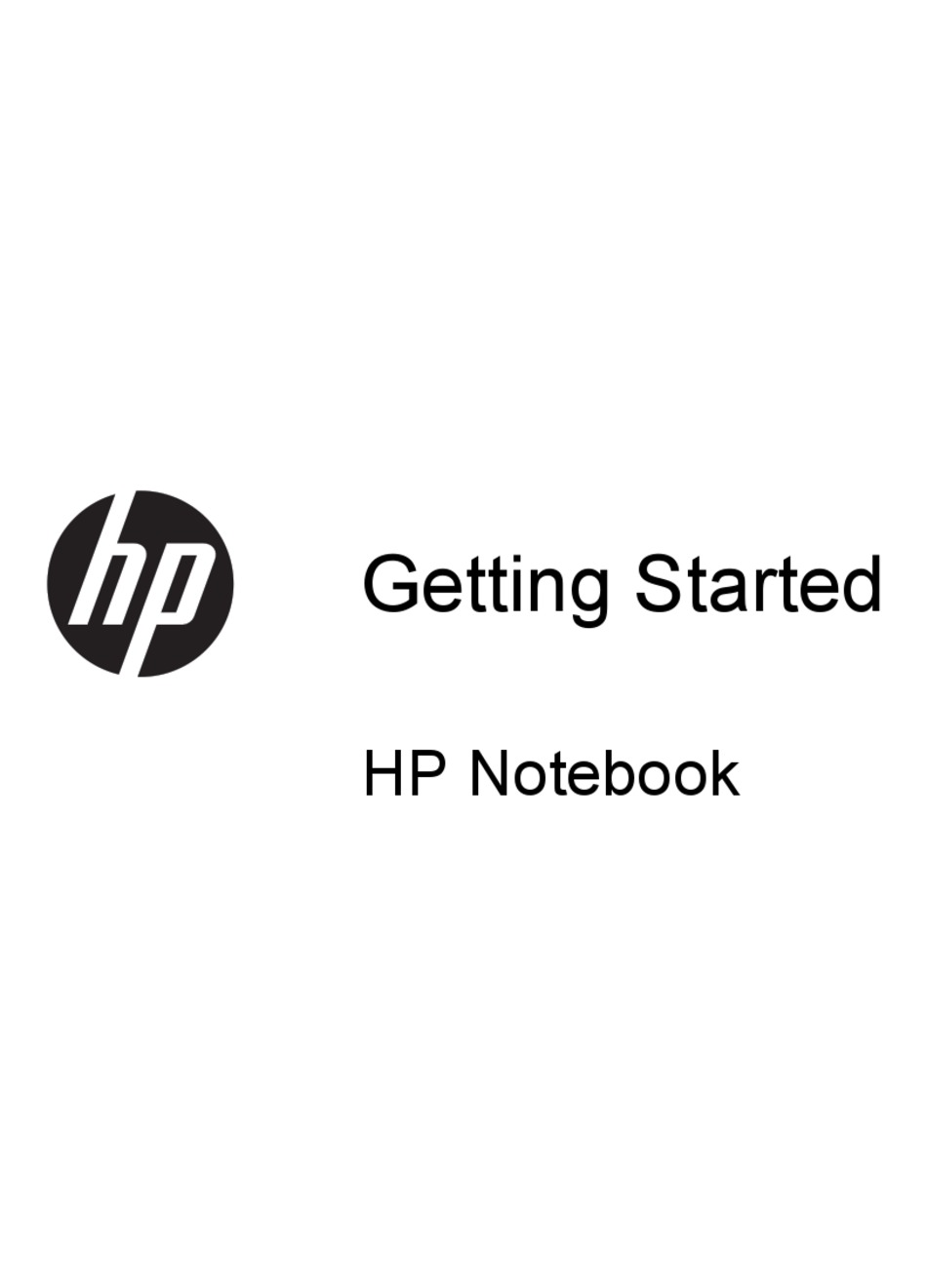 HP ELITEBOOK 8770W GETTING STARTED MANUAL Pdf Download