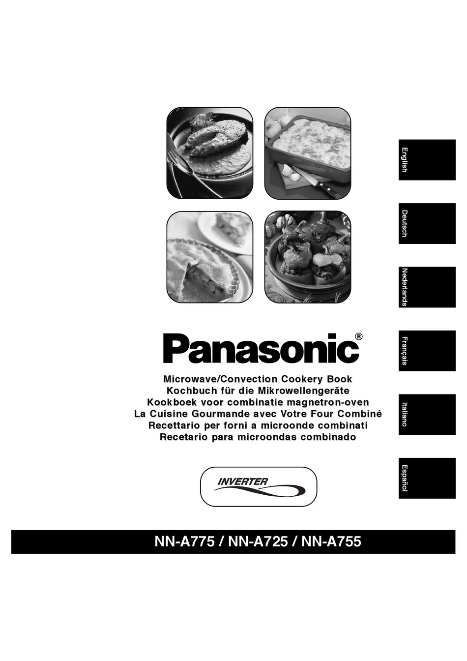 PANASONIC INVERTER NN-A775 COOKERY BOOK Pdf Download