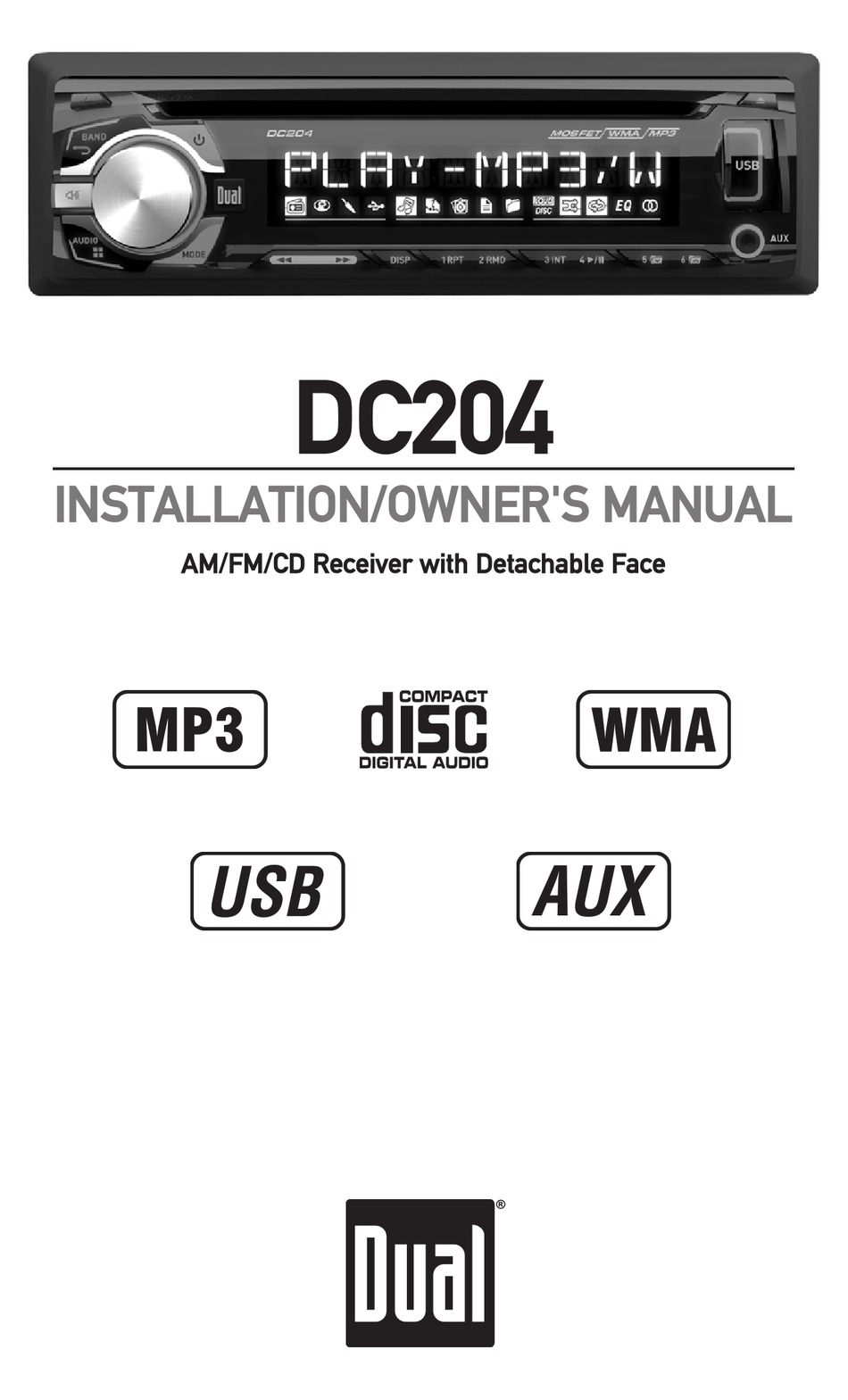 DUAL DC204 INSTALLATION & OWNER'S MANUAL Pdf Download