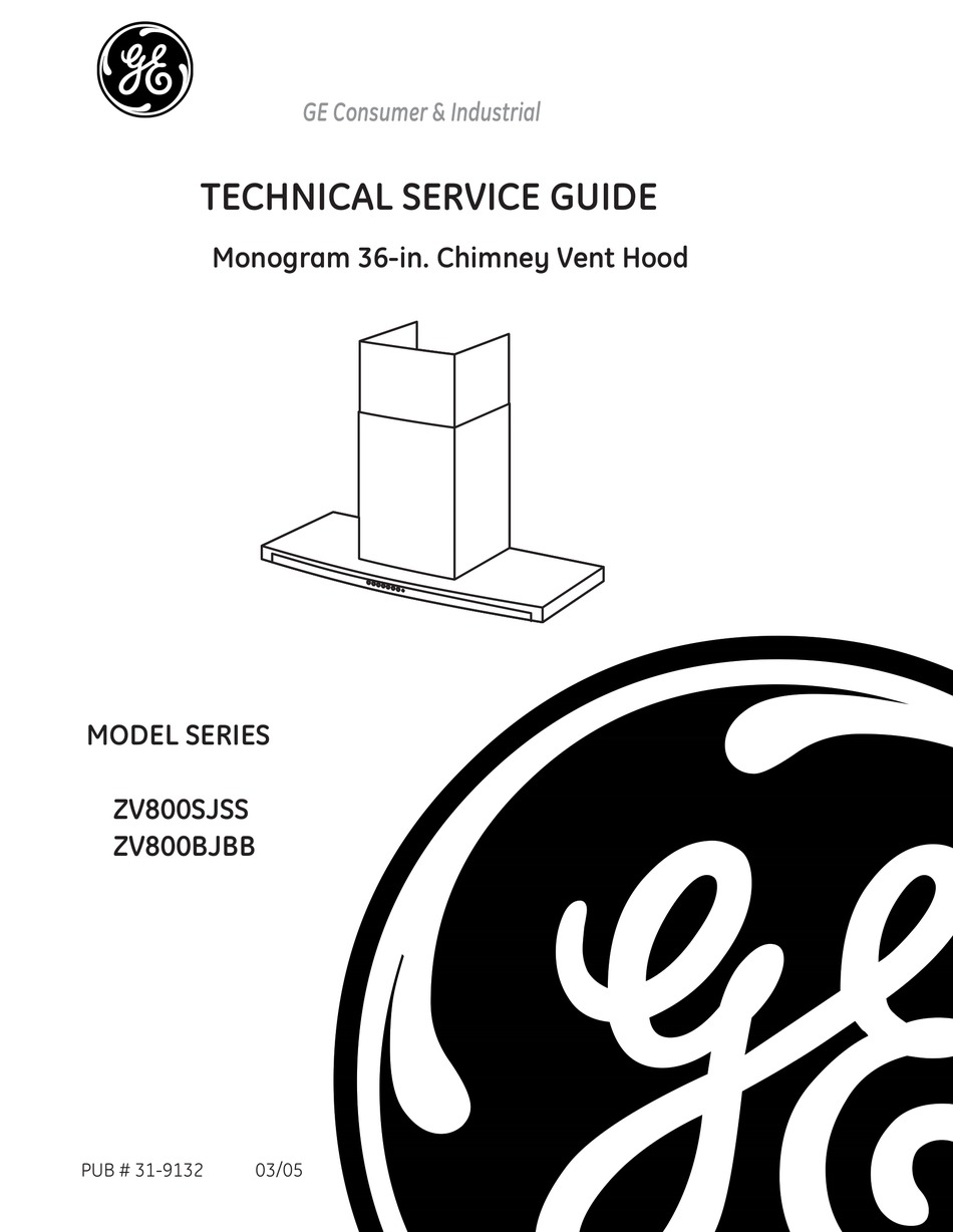 GE ZV800SJSS TECHNICAL SERVICE MANUAL Pdf Download