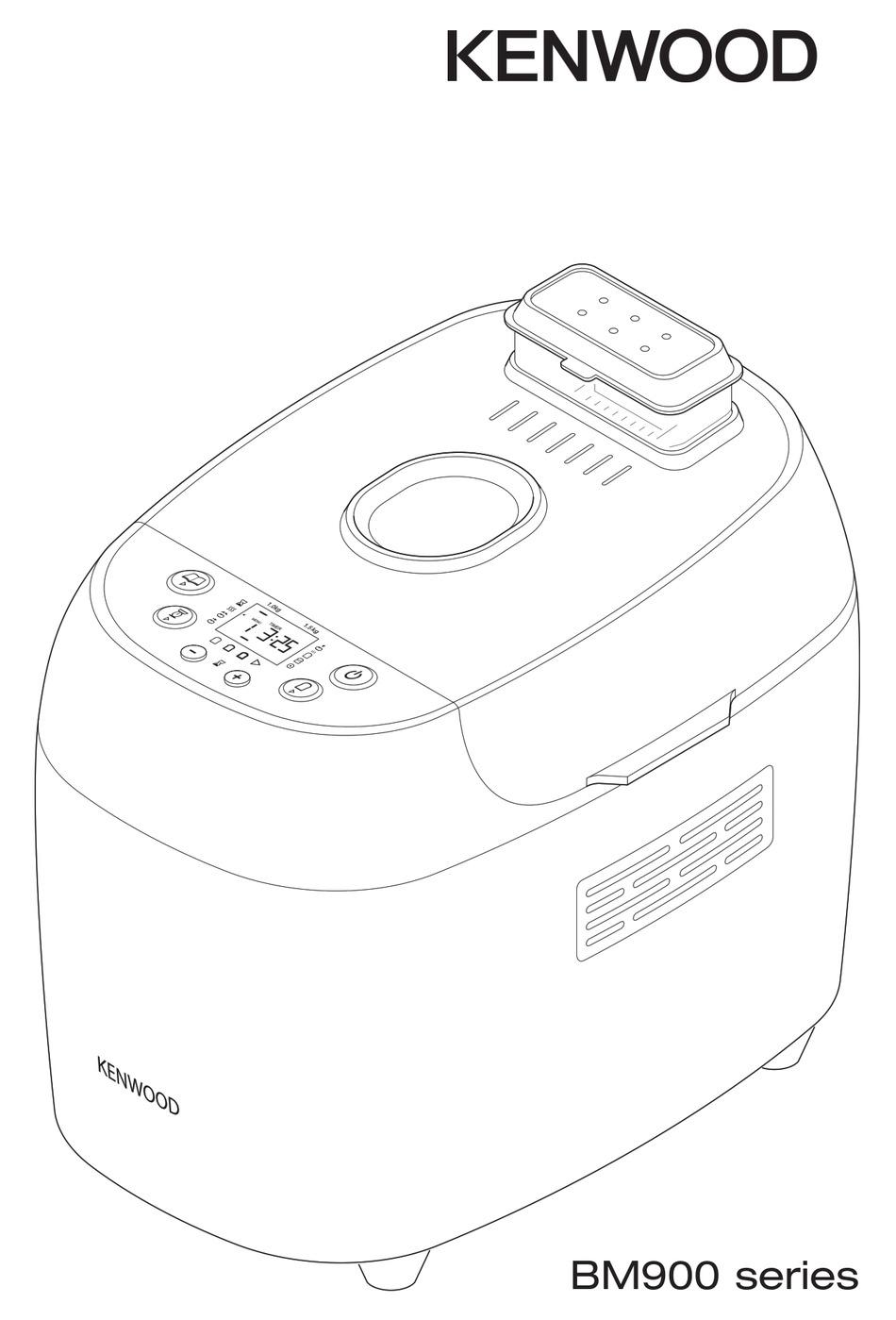 KENWOOD BM900 SERIES INSTRUCTIONS MANUAL Pdf Download