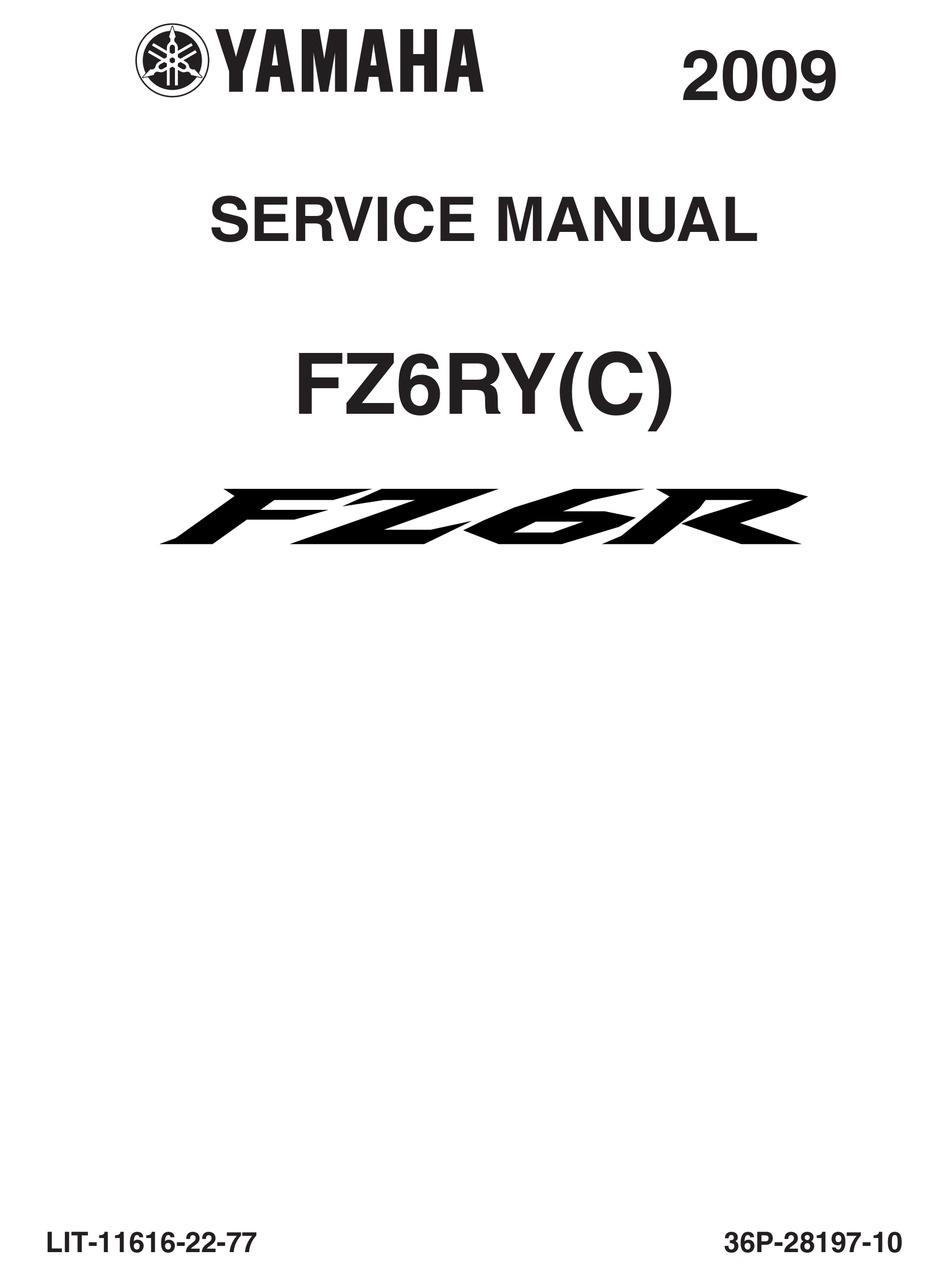 Yamaha Fz6R Flasher Relay Wiring Diagram / Lincoln