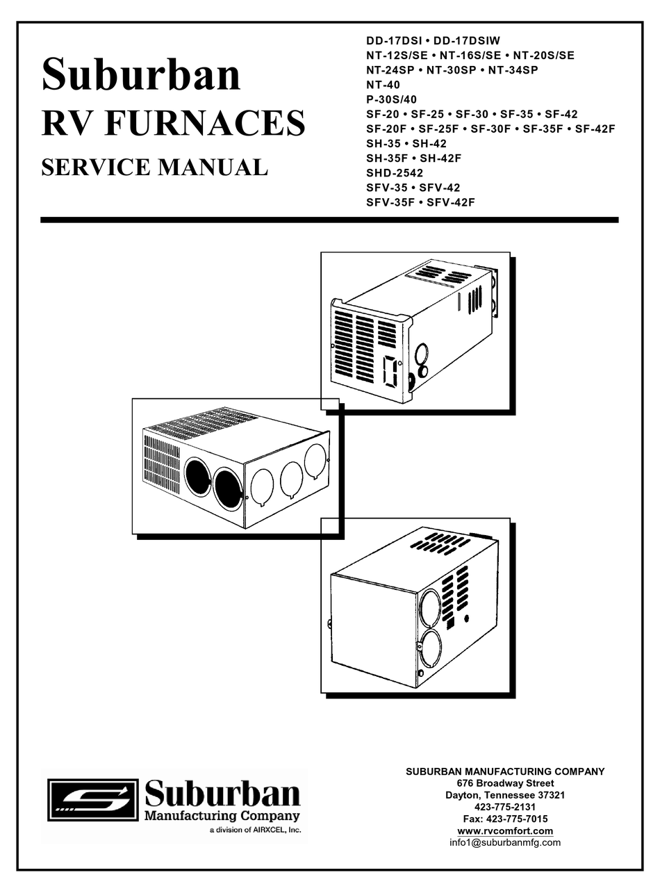 Suburban Rv Furnace Wiring Diagram : De 5942 Suburban