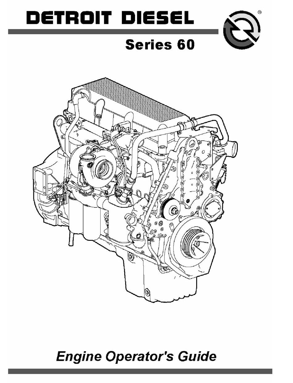 Detroit Diesel Series 60 Engine Diagram : detroit, diesel, series, engine, diagram, DETROIT, DIESEL, SERIES, OPERATOR'S, MANUAL, Download, ManualsLib