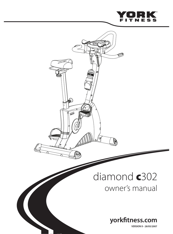 YORK FITNESS DIAMOND C302 OWNER'S MANUAL Pdf Download