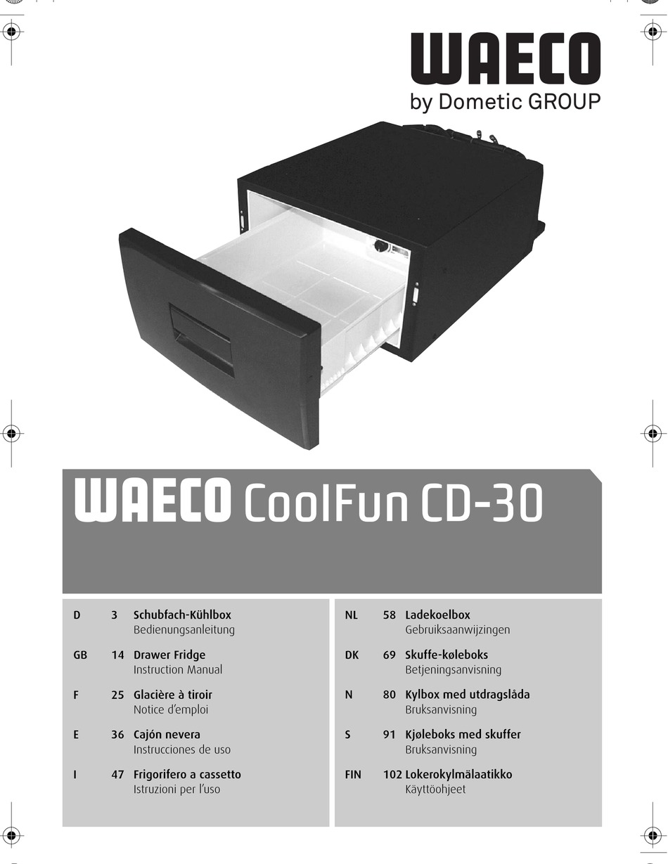 waeco coolfun cd 30 instruction manual