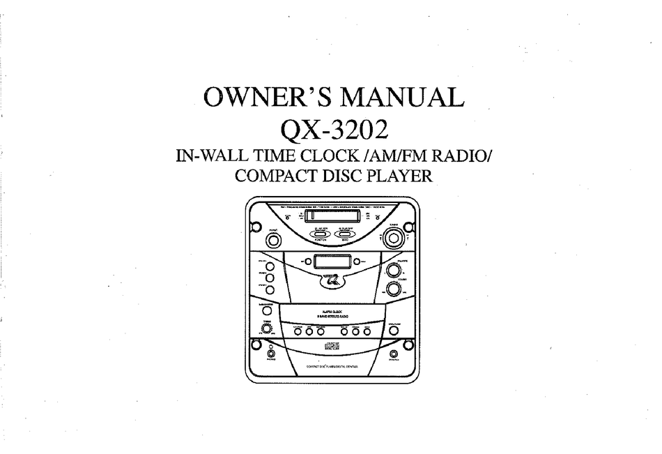 QUEST ENGINEERING QX-3202 OWNER'S MANUAL Pdf Download