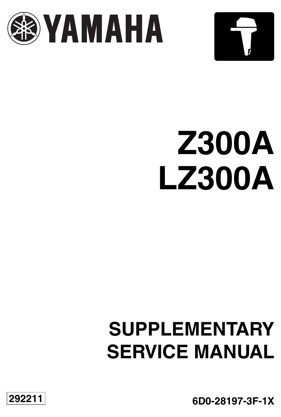 YAMAHA Z300A SUPPLEMENTARY SERVICE MANUAL Pdf Download