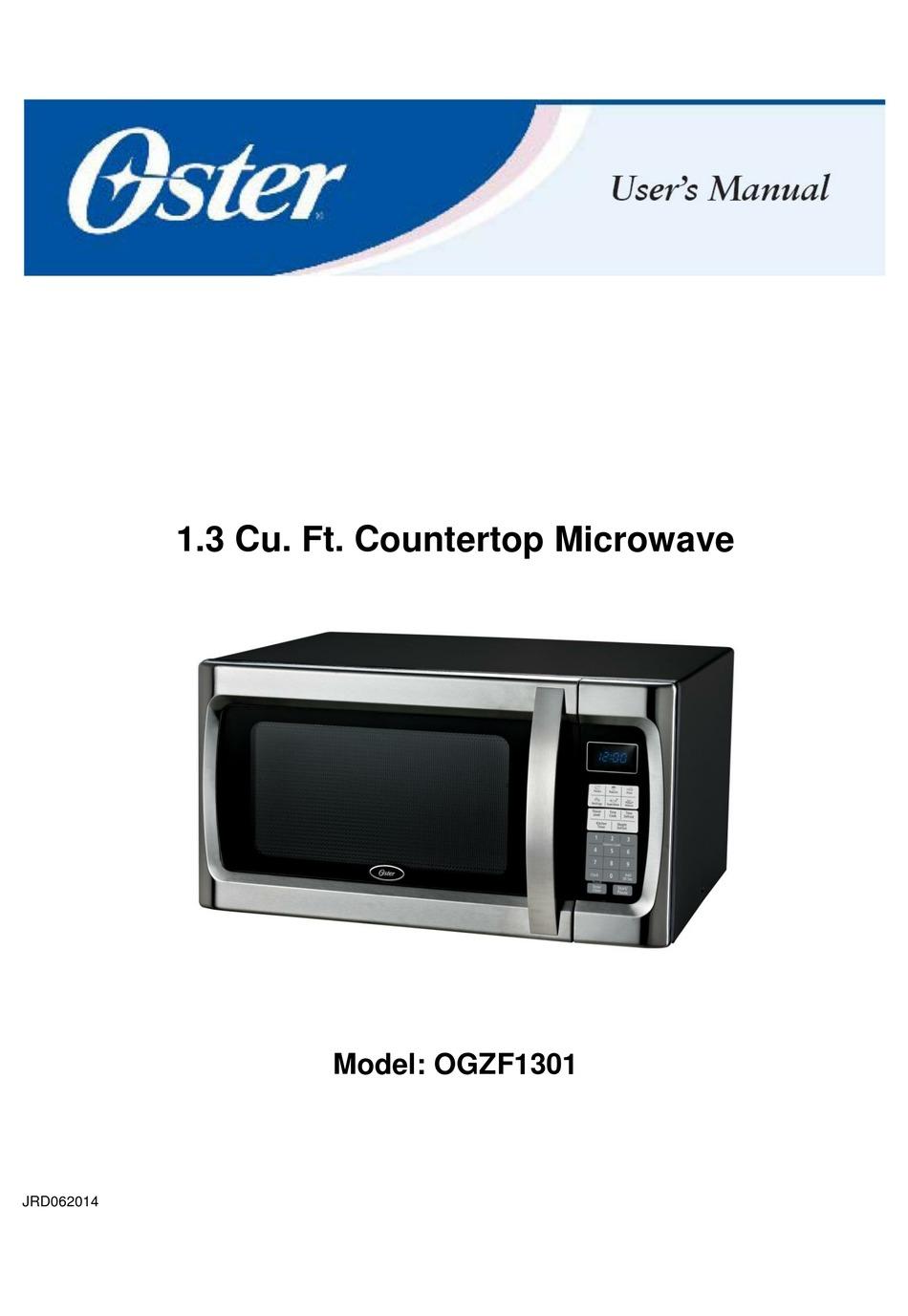 oster ogzf1301 user manual pdf download