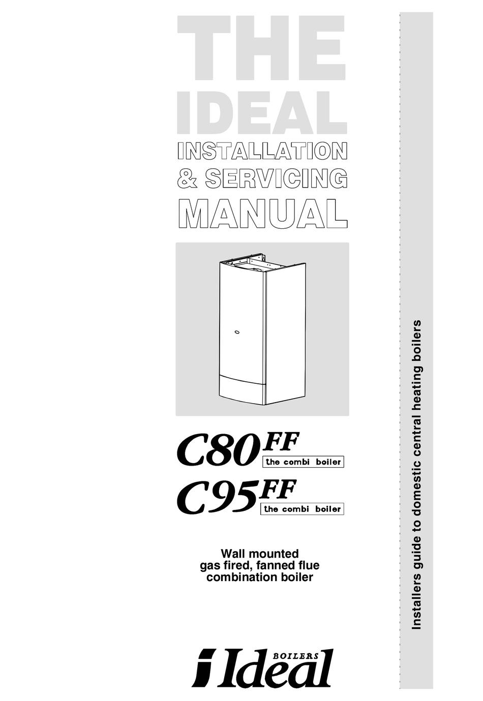 IDEAL BOILERS C80FF INSTALLATION & SERVICING MANUAL Pdf