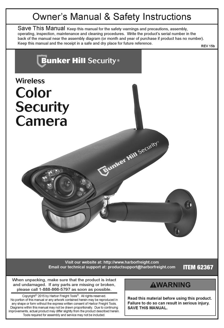 Bunker Hill Security Mobile Setup : bunker, security, mobile, setup, BUNKER, SECURITY, 62367, OWNER'S, MANUAL, Download, ManualsLib