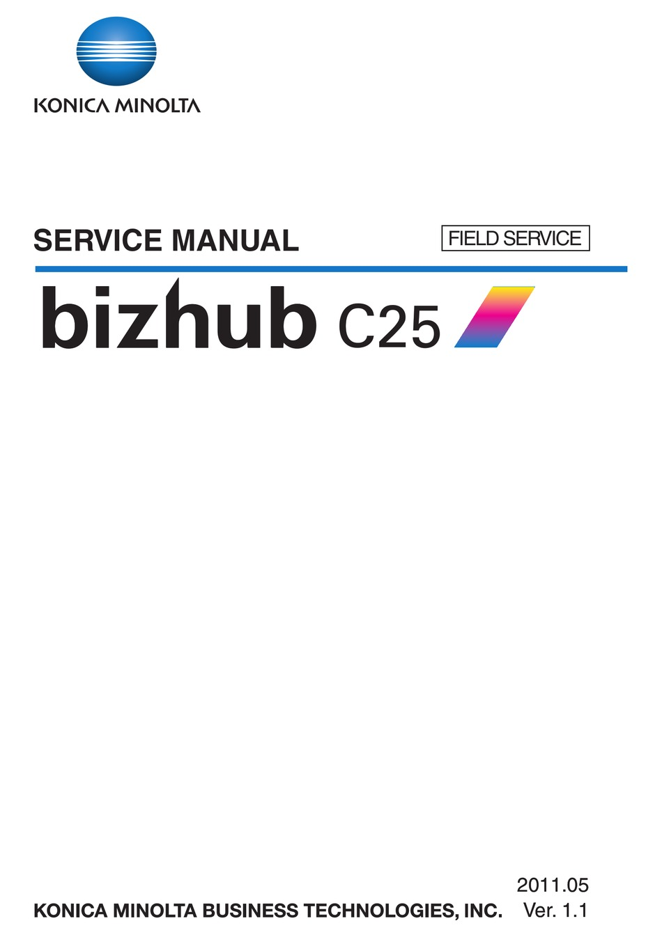 Free Konica Minolta Bizhub C25 Driver Download : konica, minolta, bizhub, driver, download, KONICA, MINOLTA, BIZHUB, SERVICE, MANUAL, Download, ManualsLib