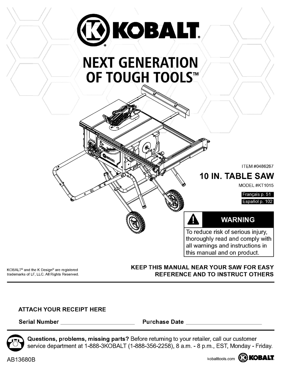 tough tools kt1015 user manual pdf