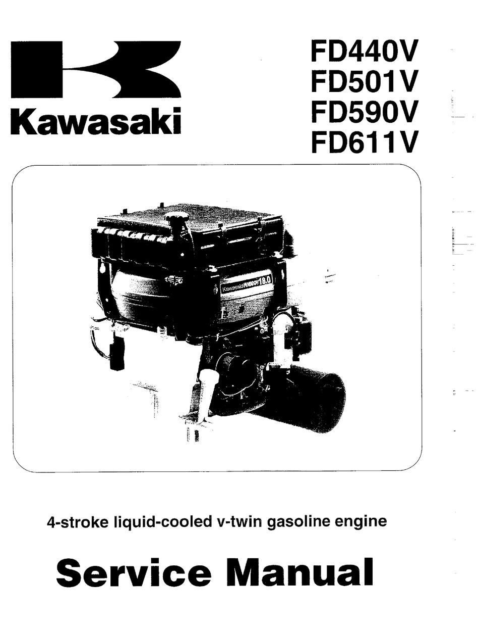 Kawasaki Fd791 Dfi 4 Stroke Liquid Cooled V Twin Gas