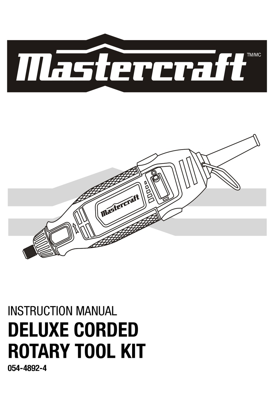 MASTERCRAFT 54-4892-4 INSTRUCTION MANUAL Pdf Download