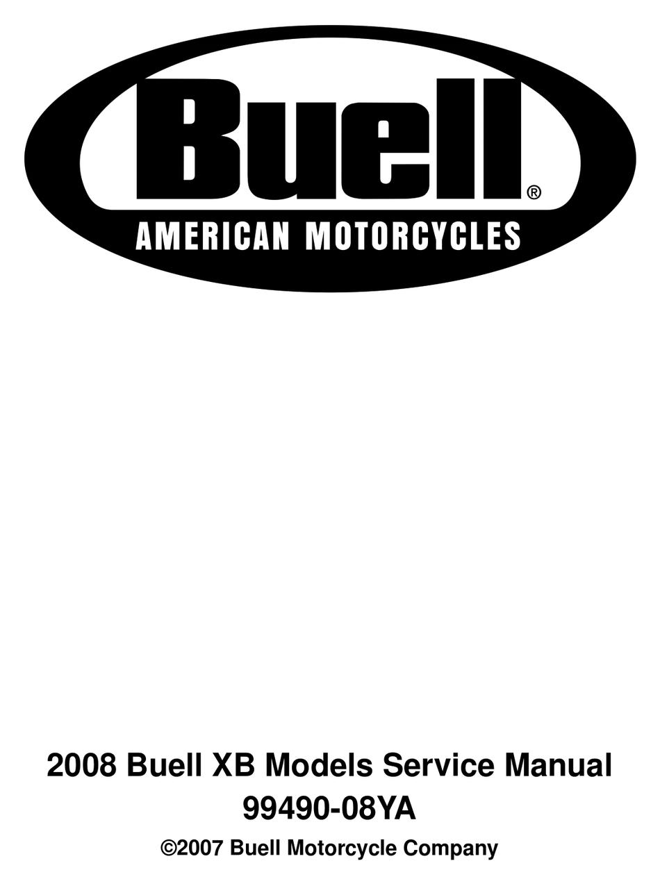 2005 Buell Firebolt Models Workshop Service Repair Manual