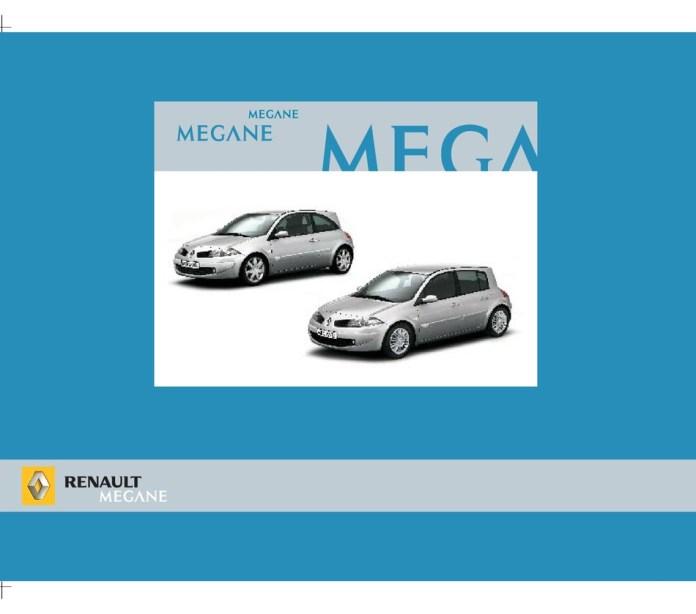 Renault 2005 Megane Owner S Manual Pdf Download Manualslib