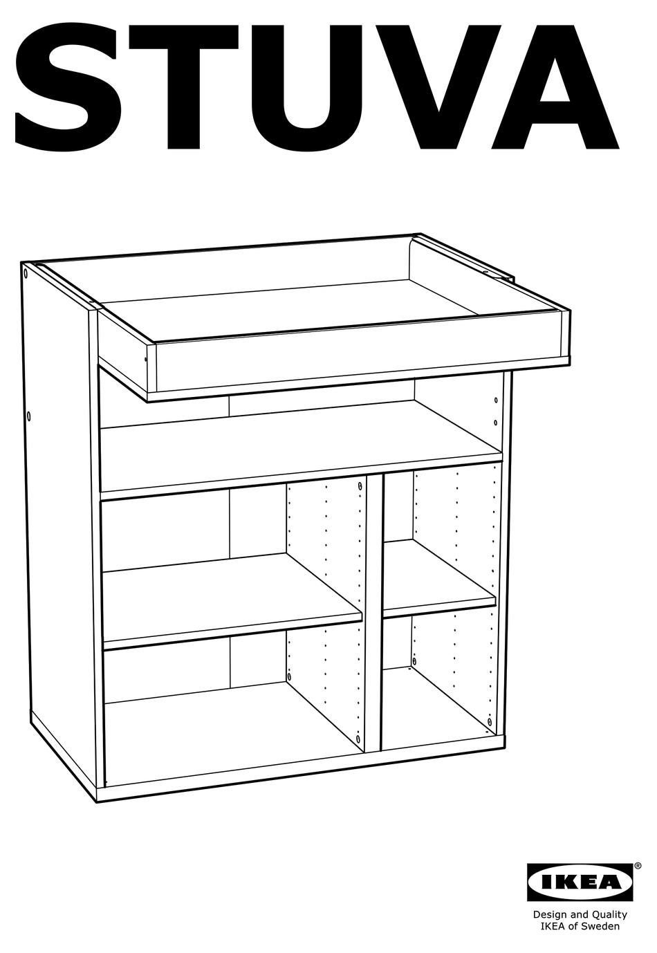 IKEA STUVA ASSEMBLY INSTRUCTIONS MANUAL Pdf Download
