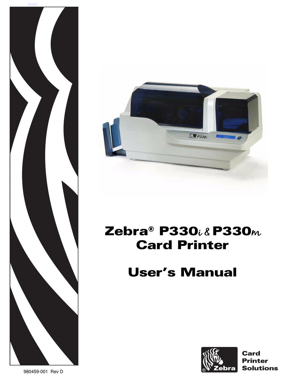 Driver Zebra P330i : driver, zebra, p330i, ZEBRA, P330I, MANUAL, Download, ManualsLib