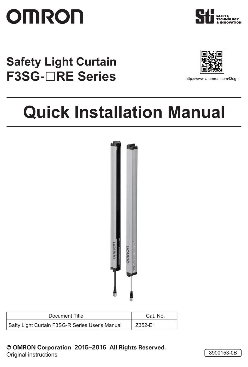 https www manualslib com manual 1202234 omron f3sg r series html