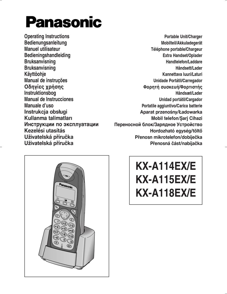 Panasonic Kx Dt333 Manual En Espanol