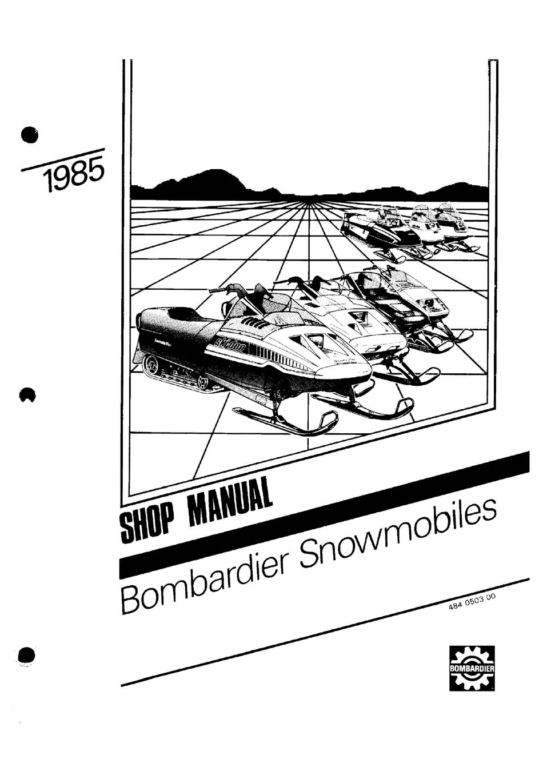 BOMBARDIER ELAN 3042 1985 SHOP MANUAL Pdf Download