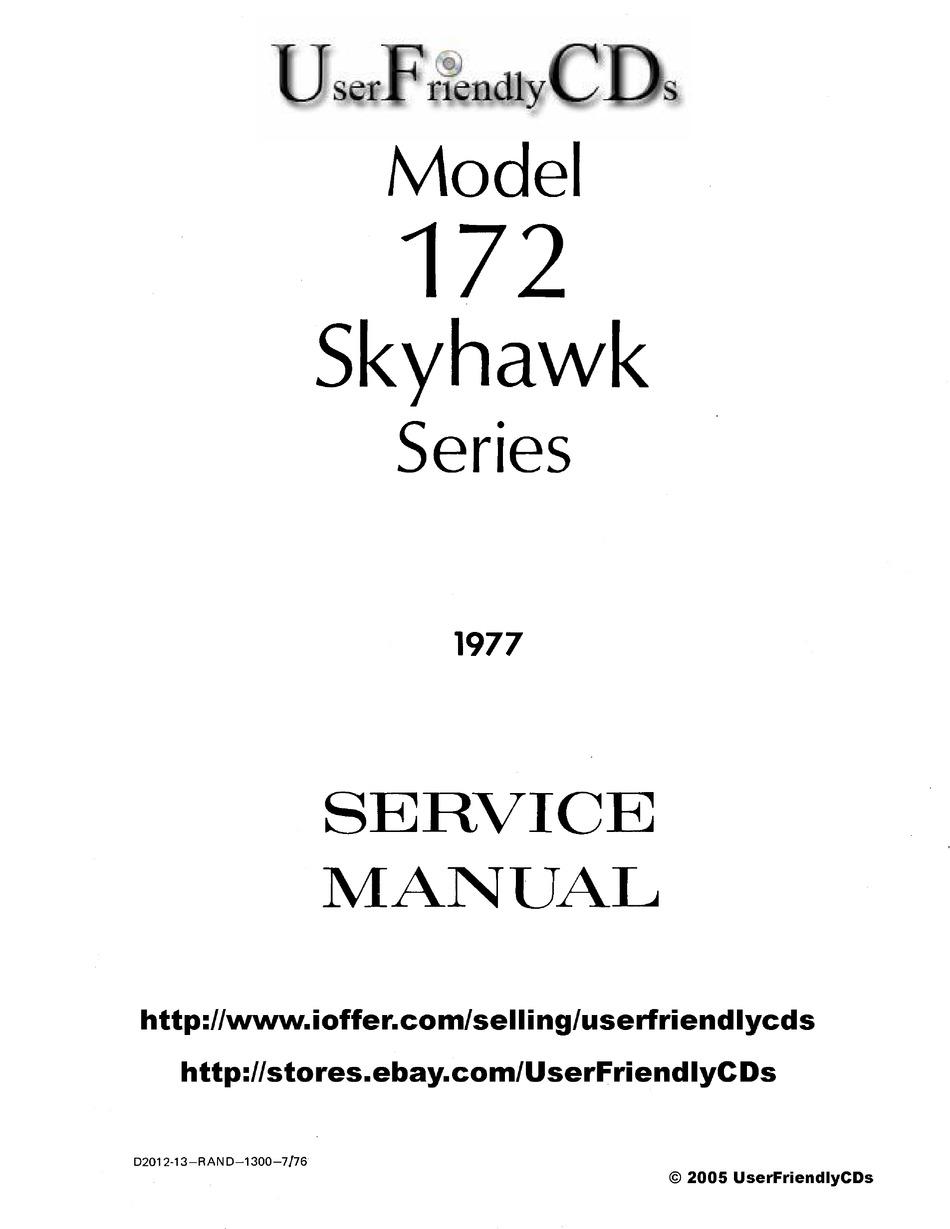 CESSNA 172 SKYHAWK SERIES SERVICE MANUAL Pdf Download
