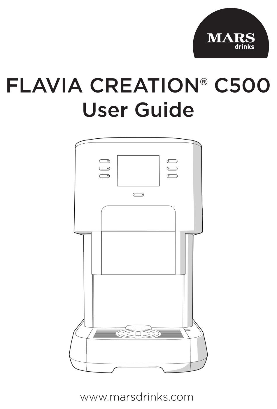 MARS FLAVIA CREATION C500 USER MANUAL Pdf Download