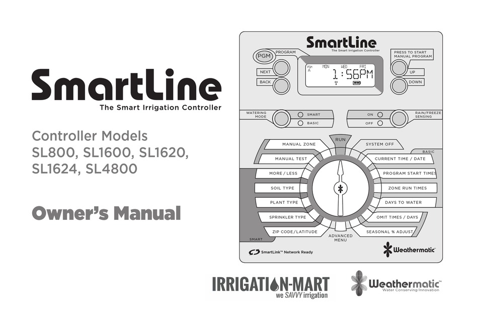 WEATHERMATIC SMARTLINE SL800 OWNER'S MANUAL Pdf Download