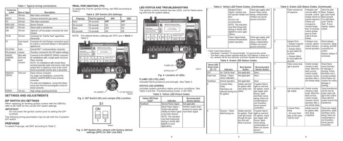 honeywell s8610u quick reference manual pdf download