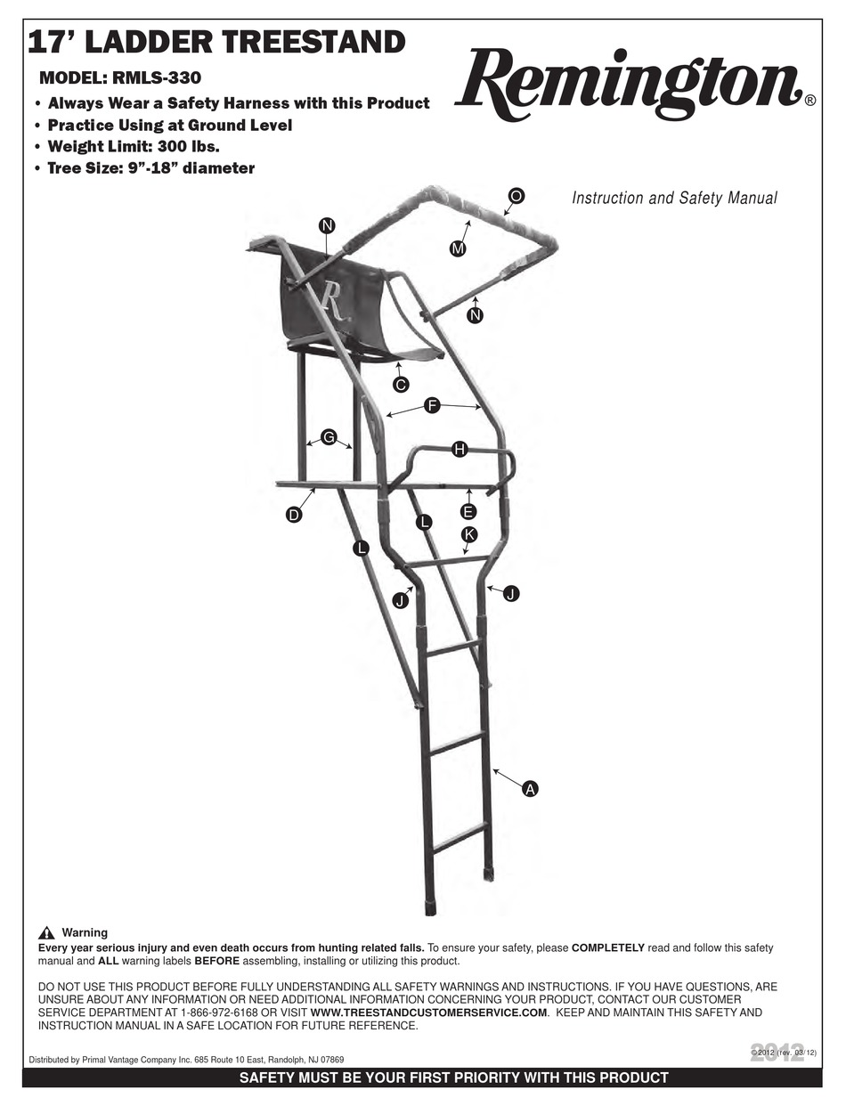 REMINGTON RMLS-330 INSTRUCTION MANUAL Pdf Download