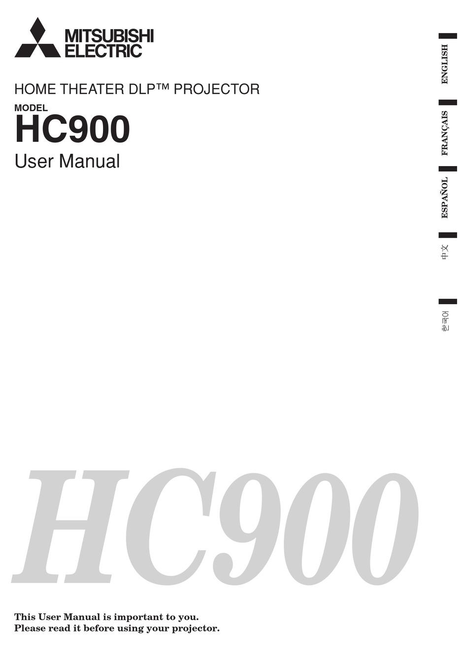MITSUBISHI ELECTRIC HC900 USER MANUAL Pdf Download