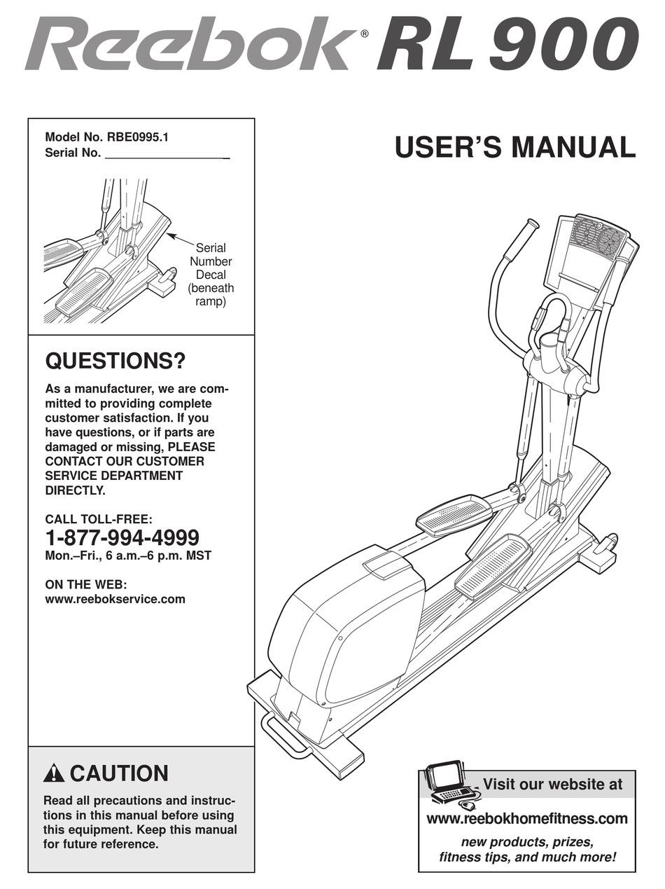 C3 1 Reebok Cross Trainer Manual Pdf / Reebok Fusion Cross