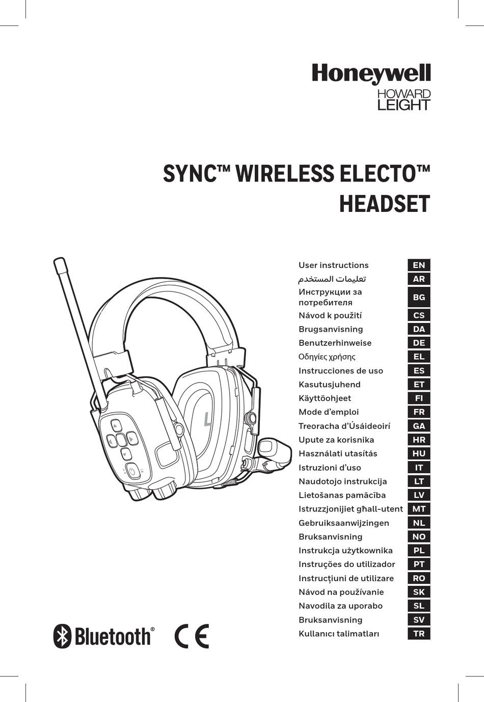 HONEYWELL SYNC WIRELESS ELECTO USER INSTRUCTIONS Pdf