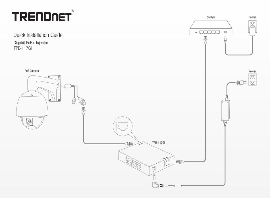 TRENDNET TPE-117GI QUICK INSTALLATION MANUAL Pdf Download